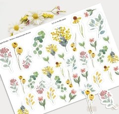 Día de la madre Tags y Stickers Flores del bosque: Kit Imprimible - comprar online