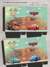 Cars - Radiator Springs Kit imprimible - tienda online