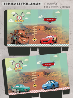 Kit imprimible Cars - Radiator Springs - tienda online