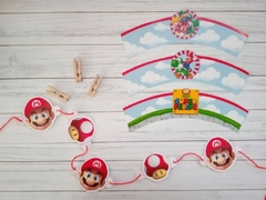 Kit imprimible Super Mario Bros - comprar online