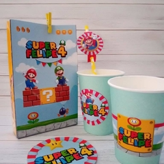 Kit imprimible Super Mario Bros en internet