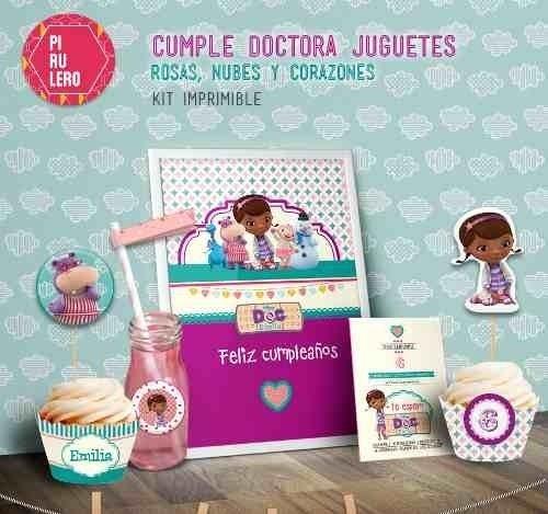 Imprimible Juguetes Cielo Corazones Doctora Y Kit 0knw8OXP