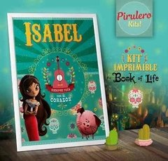 Kit Imprimible The Book Of Life - el Libro De La Vida