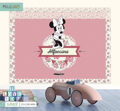 Minnie Shabby Chic - Banner Imprimible