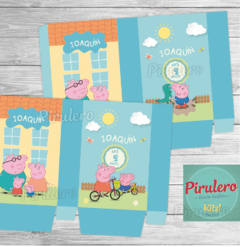 Peppa y George Pig Kit Imprimible en internet