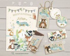 Animalitos del bosque encantado 2: Kit imprimible - comprar online