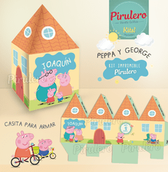 Peppa y George Pig Kit Imprimible - comprar online