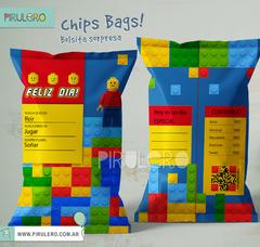 Chip Bags Bloques - Lego