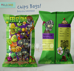 Chip Bags Planta Vs Zombies