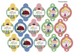 Kit Imprimible Ben and Holly - tienda online