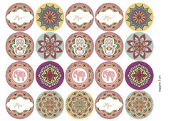 Mandalas: Kit Imprimible en internet