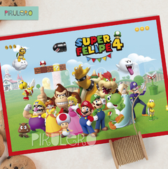 Kit imprimible Super Mario Bros
