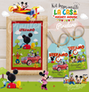 La casa de Mickey Mouse: Kit Imprimible Decoración - comprar online