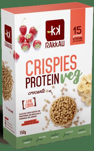 863bef1a1 ... Crispies Protein Veg Crisp Proteína Ervilha Arroz Pea Rice Rakkau 150g  - comprar online ...
