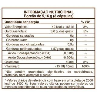 f6b20a93c7c Triple Omega 3-6-9 com Vitamina E 120 Cápsulas Sundow Naturals USA Importado  (cópia)