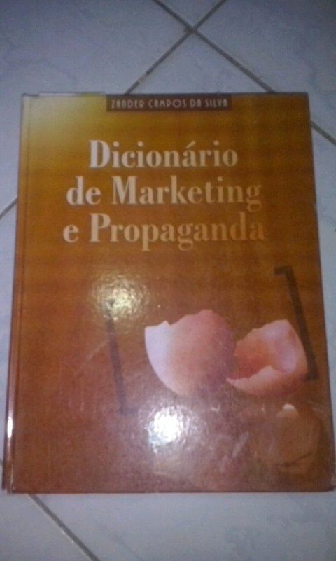 Dicionário de Marketing e propaganda Vander Campos da Silva