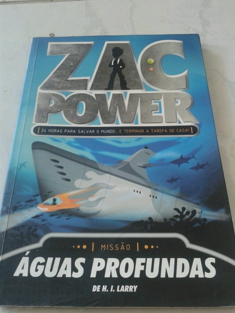 Zac Power Águas Profundas