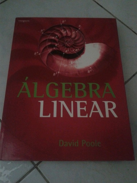 Álgebra linear David poole