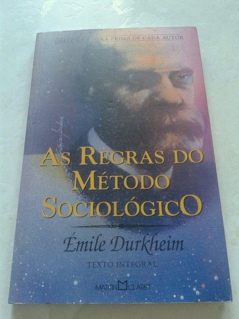 As regras do método sociológico Emílio