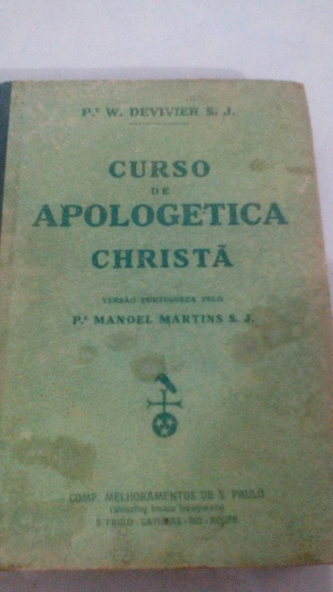 Curso apologetica Chritã