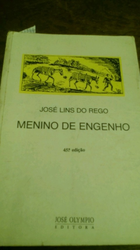 Menino do Engenho José Lins do Rego