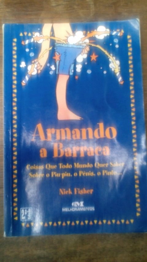 Armando a barraca Nick Fisher