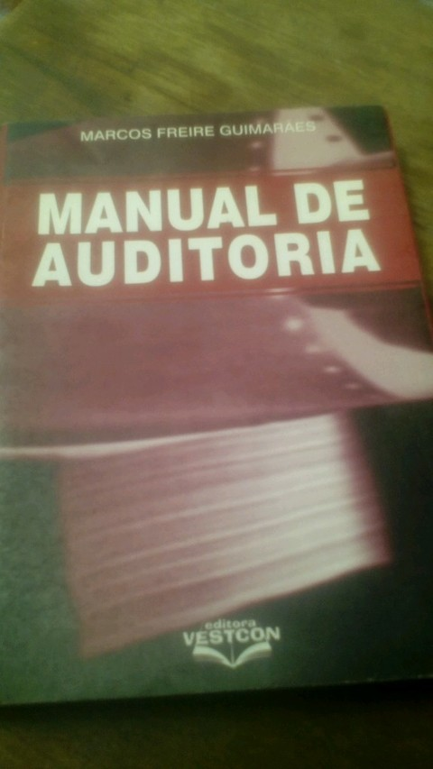 Manual de auditoria Marco Freire Guimarães