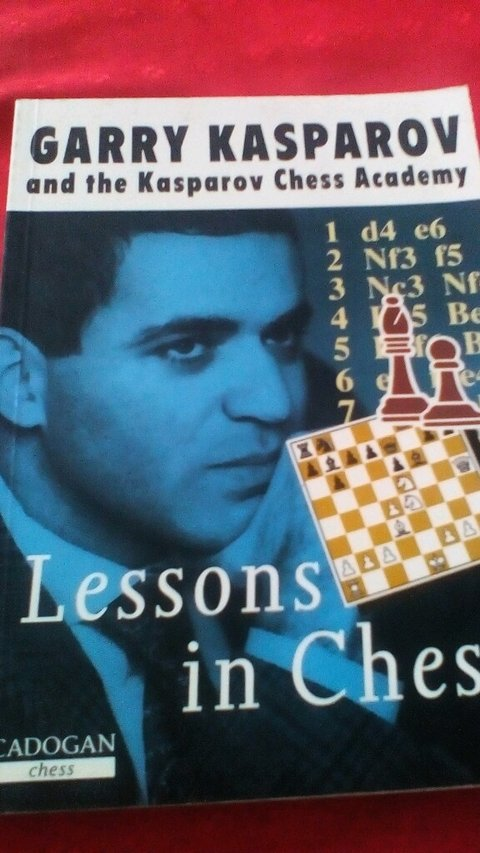 Garry Kasparov lessons in chess