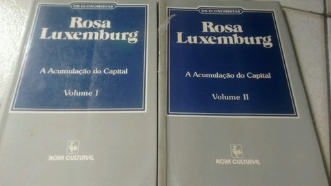 Rosa luxemburg os economistas acumulação do Capital
