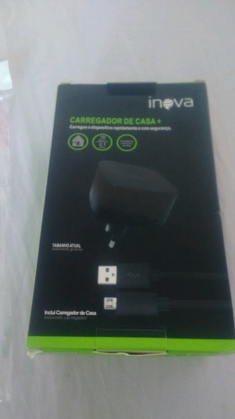 Carregador Turbo Inova V8 Original Home Charger K02 N F