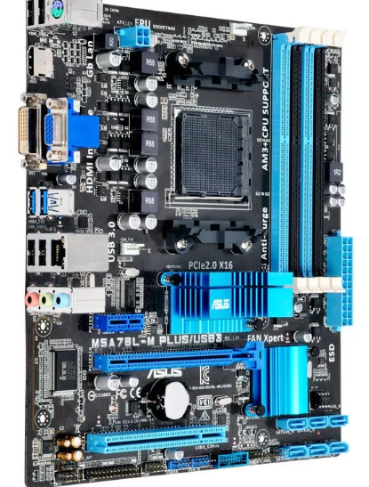 Placa Mãe Asus M5a78l-m Plus/usb3 Amd Am3+ Matx Ddr3 Usb3.0
