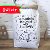 Bolsa de papel - Unicornio OUTLET
