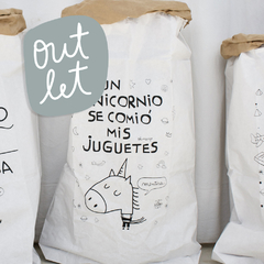 PAPERBAG Unicornio (OUTLET)