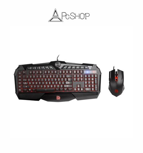CHALLENGER PRIME RGB Teclado + Mouse Combo Gaming TT Esports