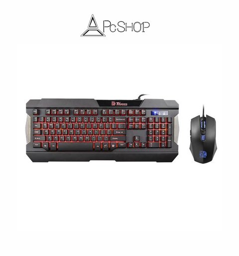 COMMANDER MULTI-LIGHT Teclado + Mouse Combo Gaming