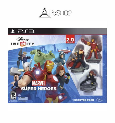 Disney Infinity: Marvel Super Heroes Edition 2.0 PS3