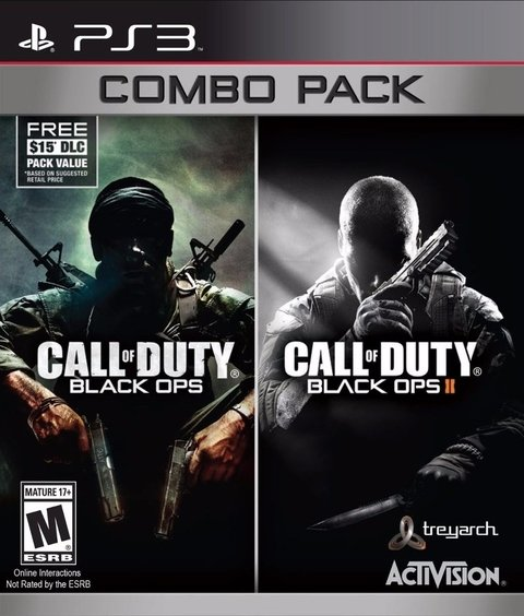 Call Of Duty COMBO Black Ops 1 y 2 PS3