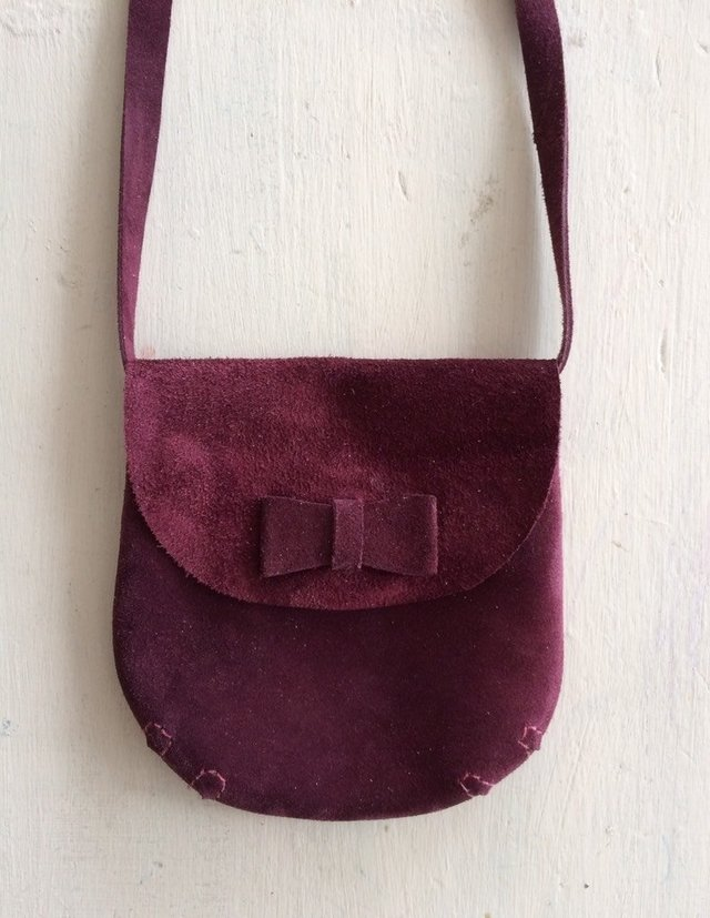 Mini Bag Bordo en internet