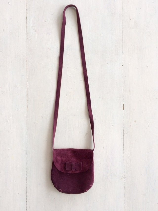 Mini Bag Bordo - hacer.a.mano