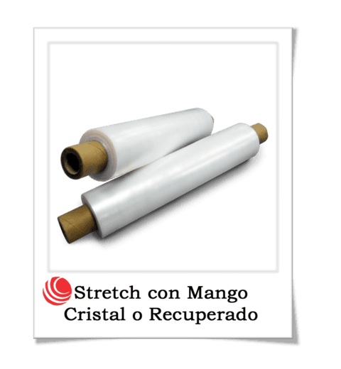 Stretch con Mango Cristal