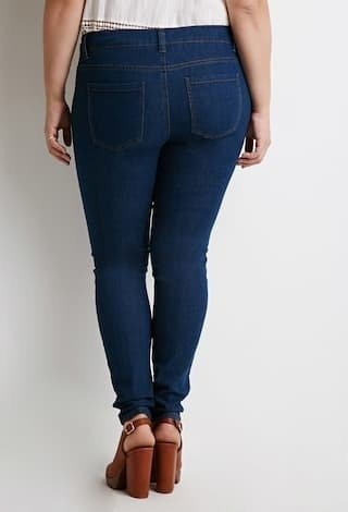 Jean talle amplio Forever 21 - Majas