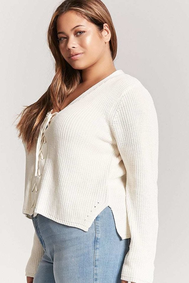 Sweater talles grandes - especiales FOREVER 21 - comprar online