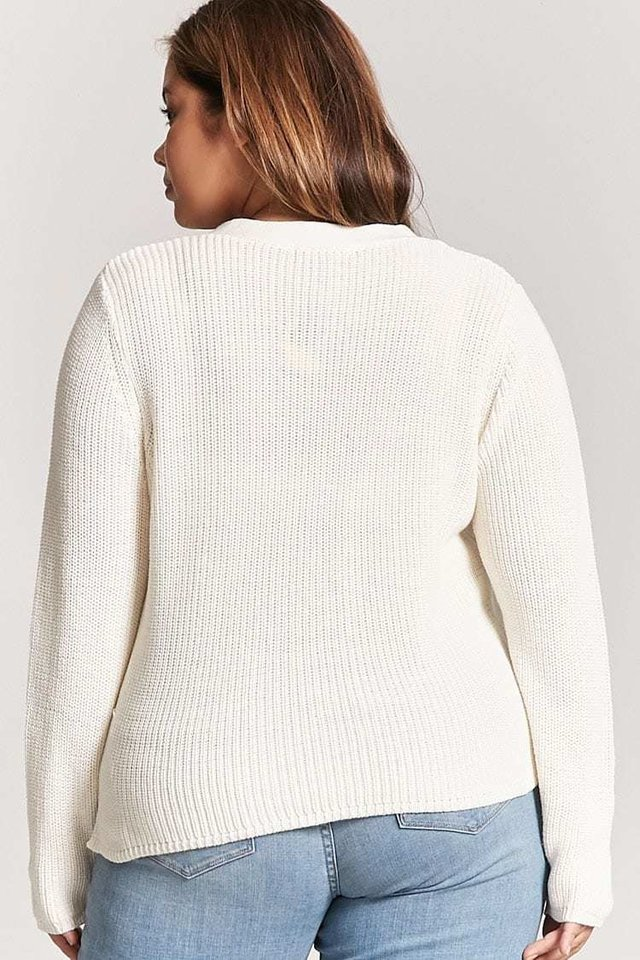 Sweater talles grandes - especiales FOREVER 21 - Majas