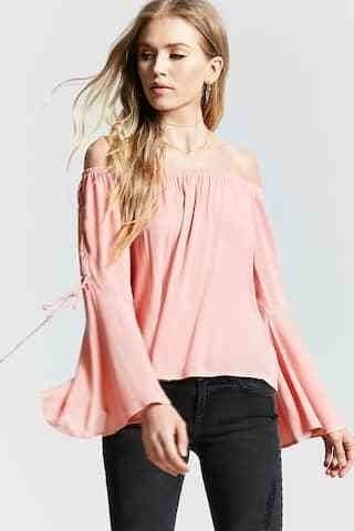 Camisola sin hombros Forever 21