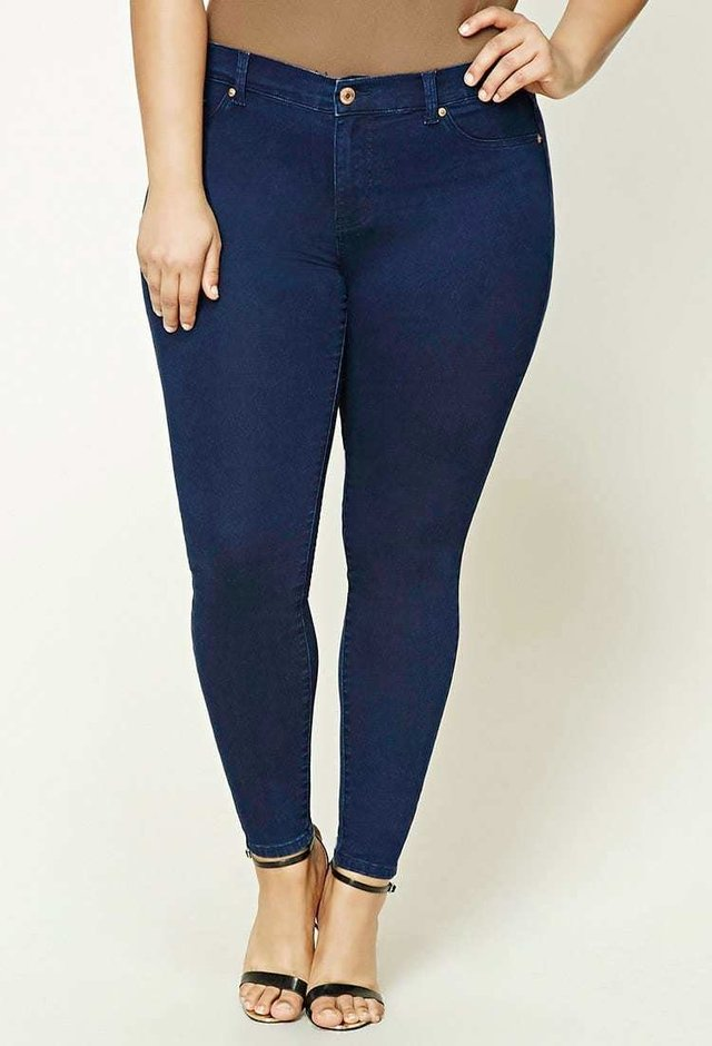 Jean chupin plus size - talles grandes forever 21 - Majas