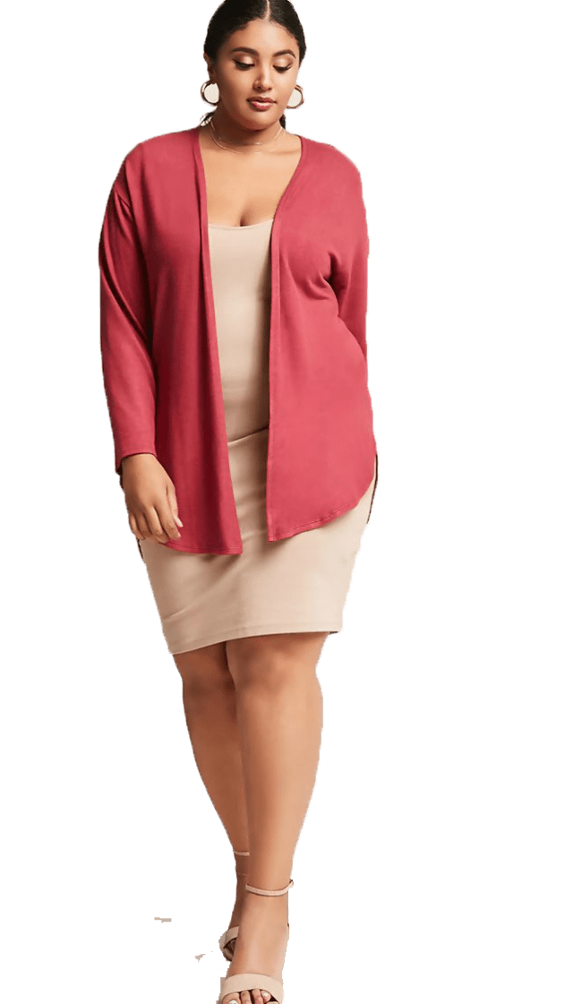 Cardigan  Plus size - talles grandes Forever 21