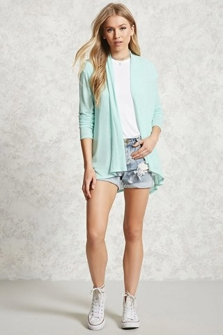 Cardigan liviano Forever 21