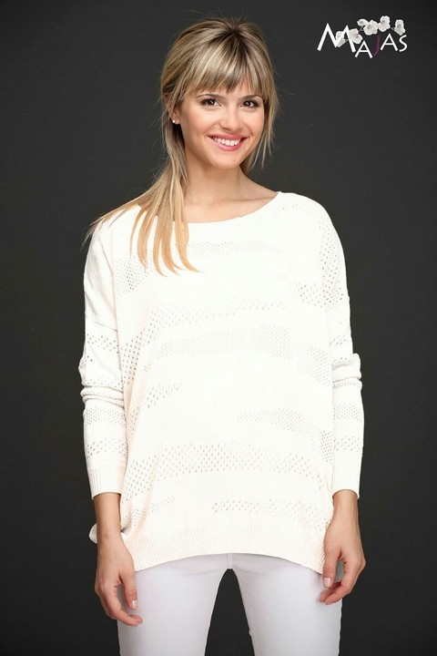 Sweater en algodón viscosa