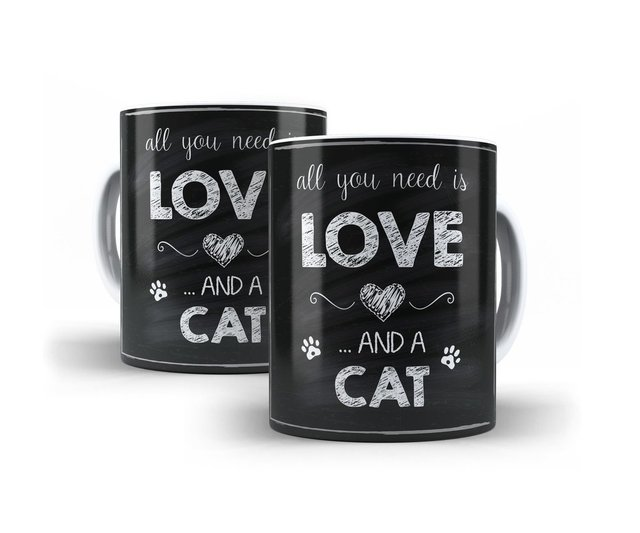 Caneca Love Cat