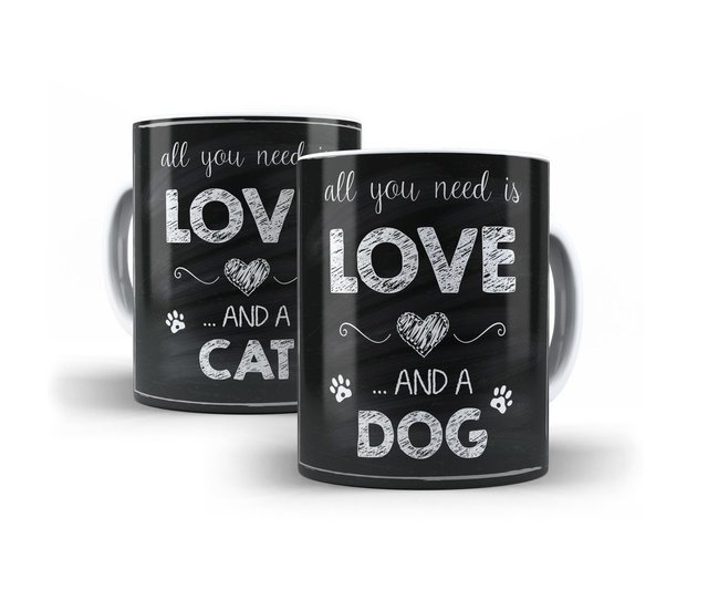 Caneca Love Dog